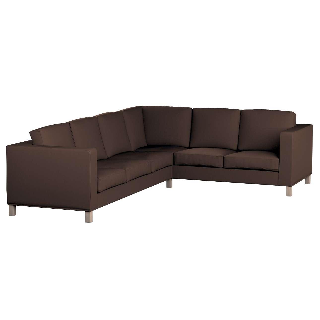 Pokrowiec na sofę narożną lewostronną Karlanda w kolekcji Bergen, tkanina: 161-73