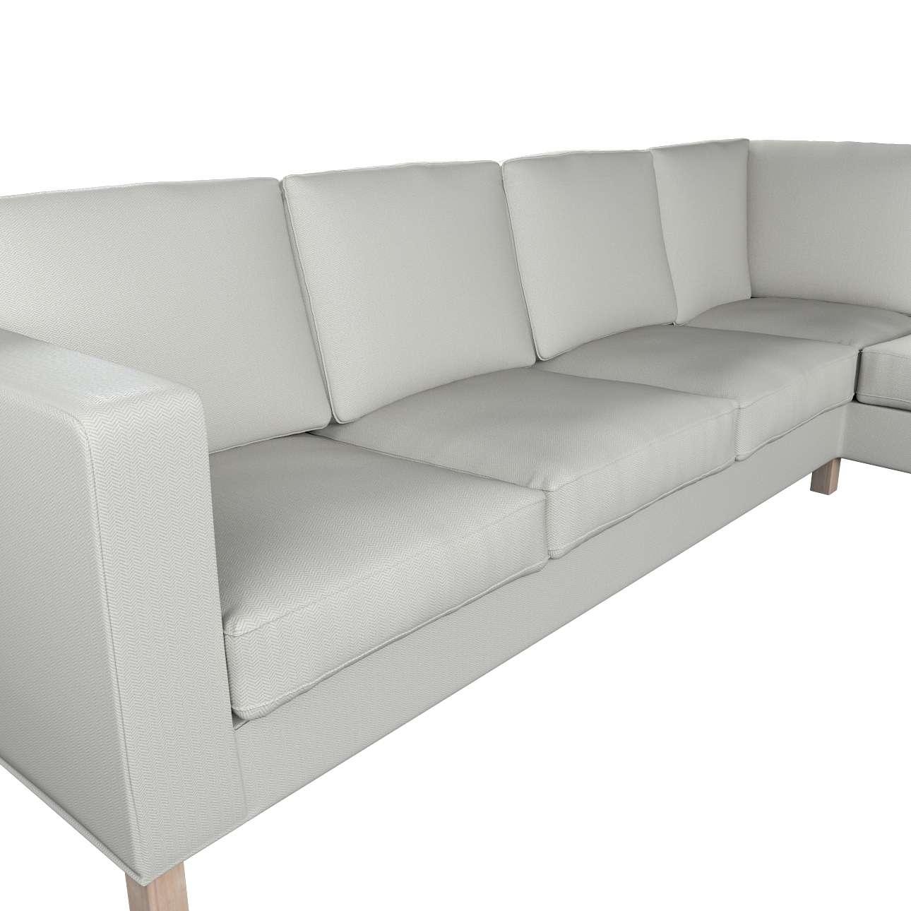 Pokrowiec na sofę narożną lewostronną Karlanda w kolekcji Bergen, tkanina: 161-84