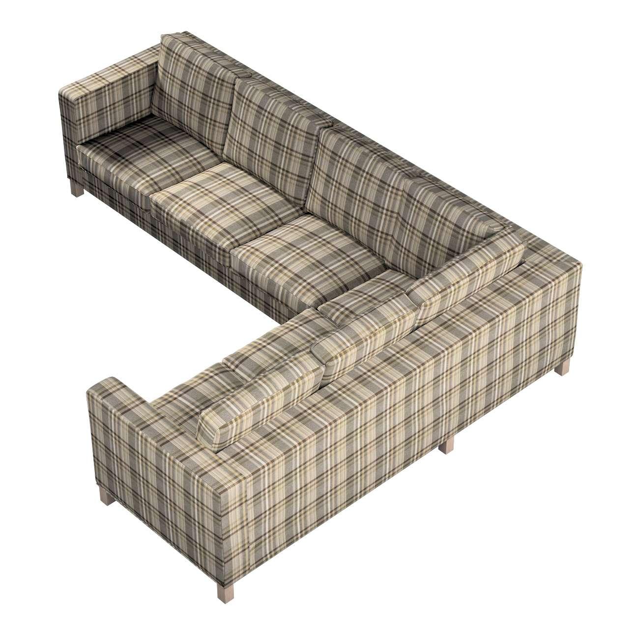Pokrowiec na sofę narożną lewostronną Karlanda w kolekcji Edinburgh, tkanina: 703-17
