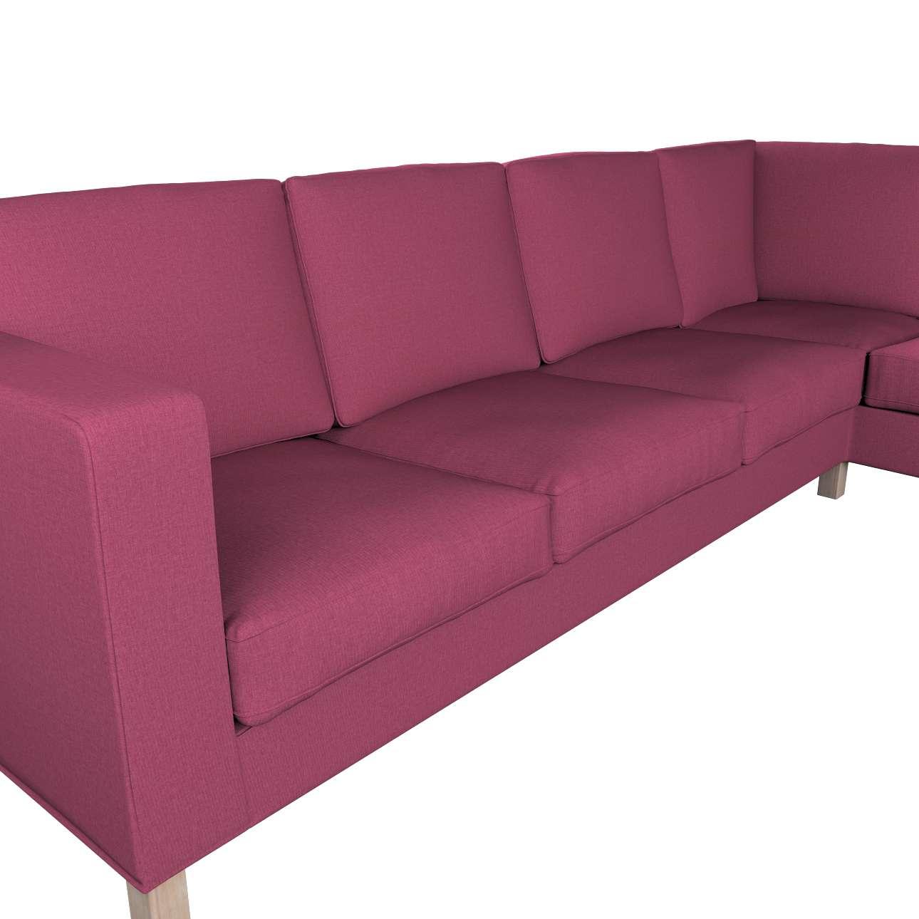 Pokrowiec na sofę narożną lewostronną Karlanda w kolekcji Living, tkanina: 160-44