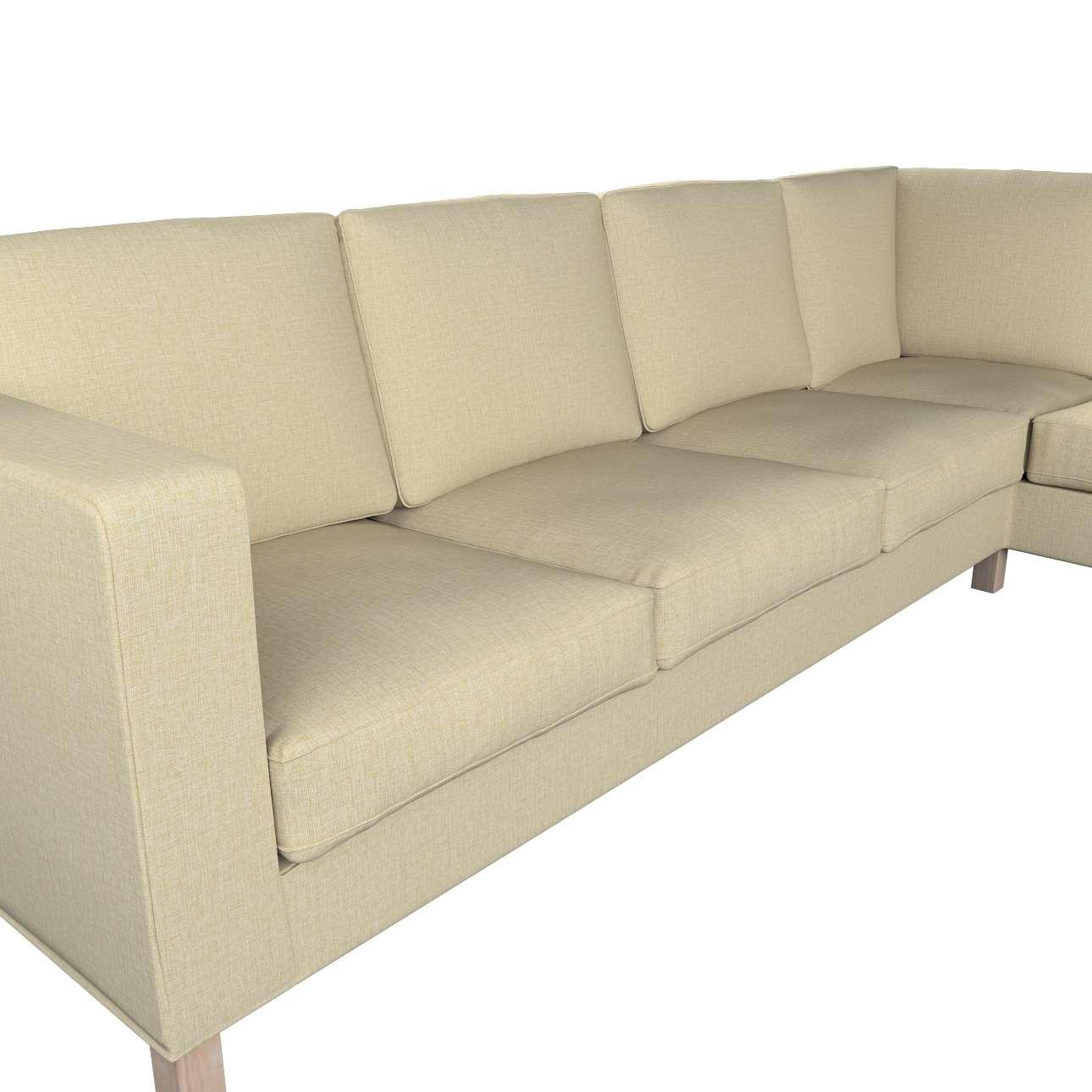 Pokrowiec na sofę narożną lewostronną Karlanda w kolekcji Living, tkanina: 161-45