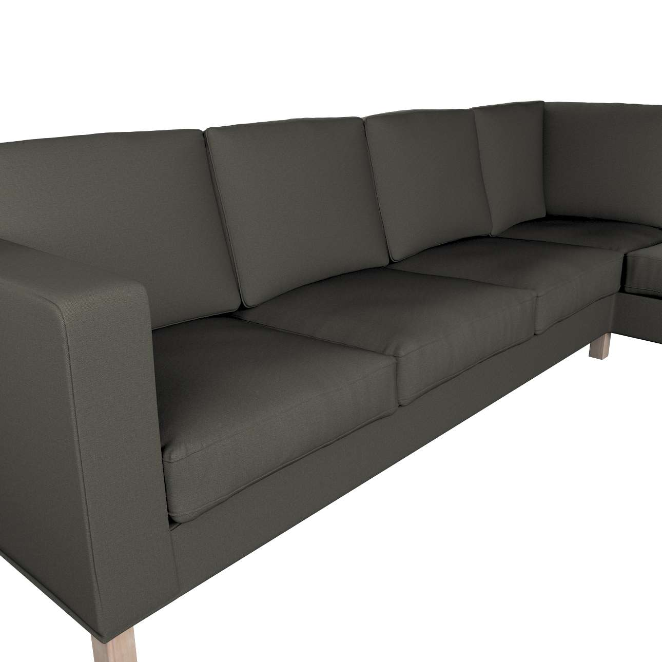 Pokrowiec na sofę narożną lewostronną Karlanda w kolekcji Living, tkanina: 161-55