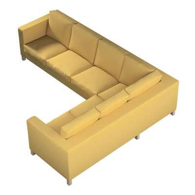 KARLANDA kampinės sofos (kairės) užvalkalas 702-41 prigesinta geltona Kolekcija Cotton Panama
