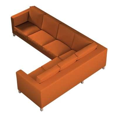 Pokrowiec na sofę narożną lewostronną Karlanda w kolekcji Cotton Panama, tkanina: 702-42