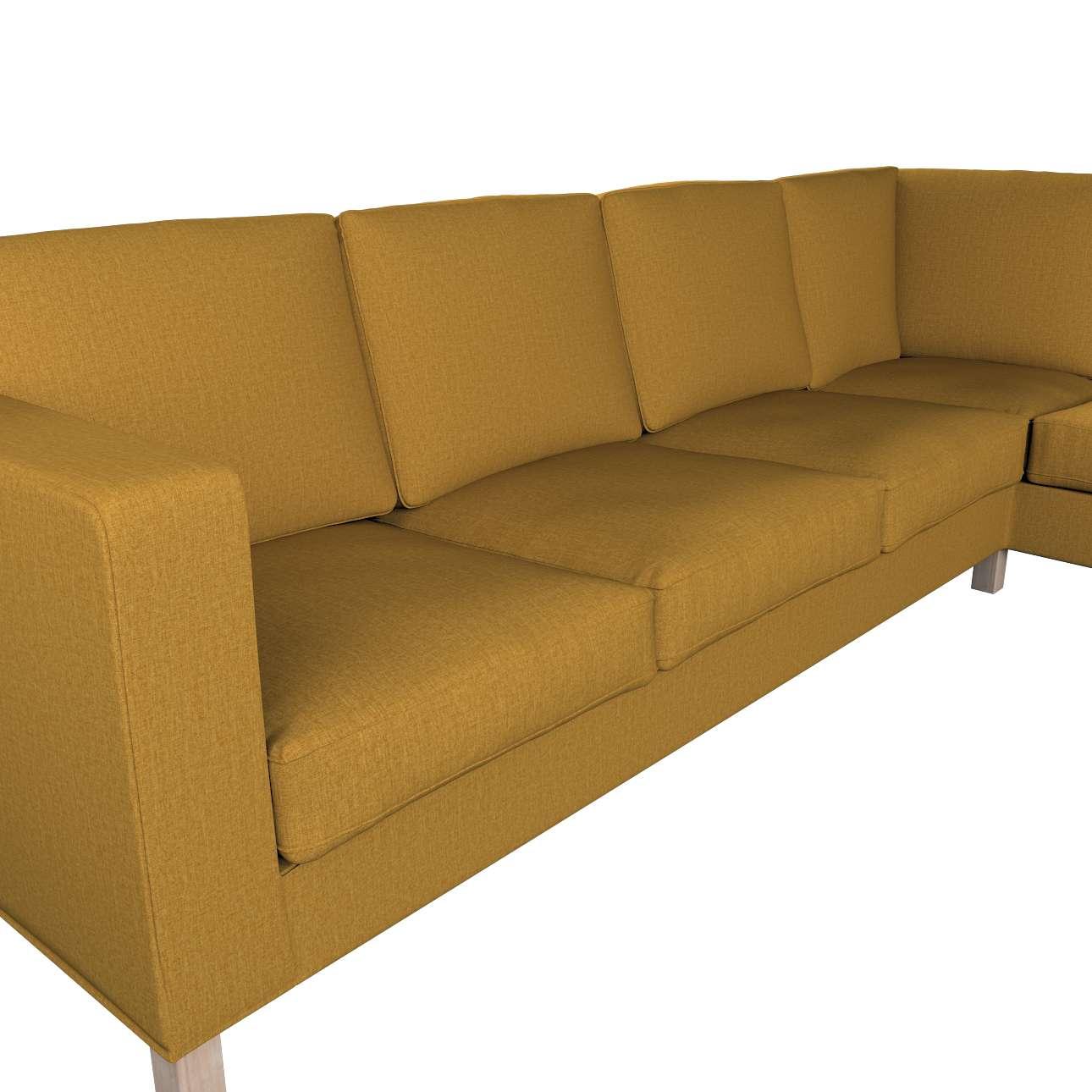 Pokrowiec na sofę narożną lewostronną Karlanda w kolekcji City, tkanina: 704-82