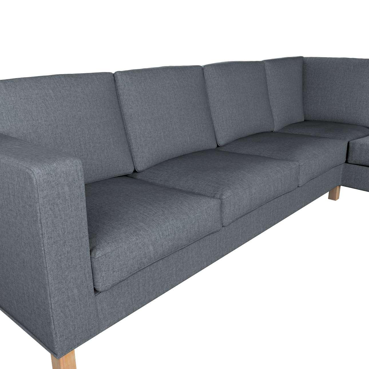 Pokrowiec na sofę narożną lewostronną Karlanda w kolekcji City, tkanina: 704-86