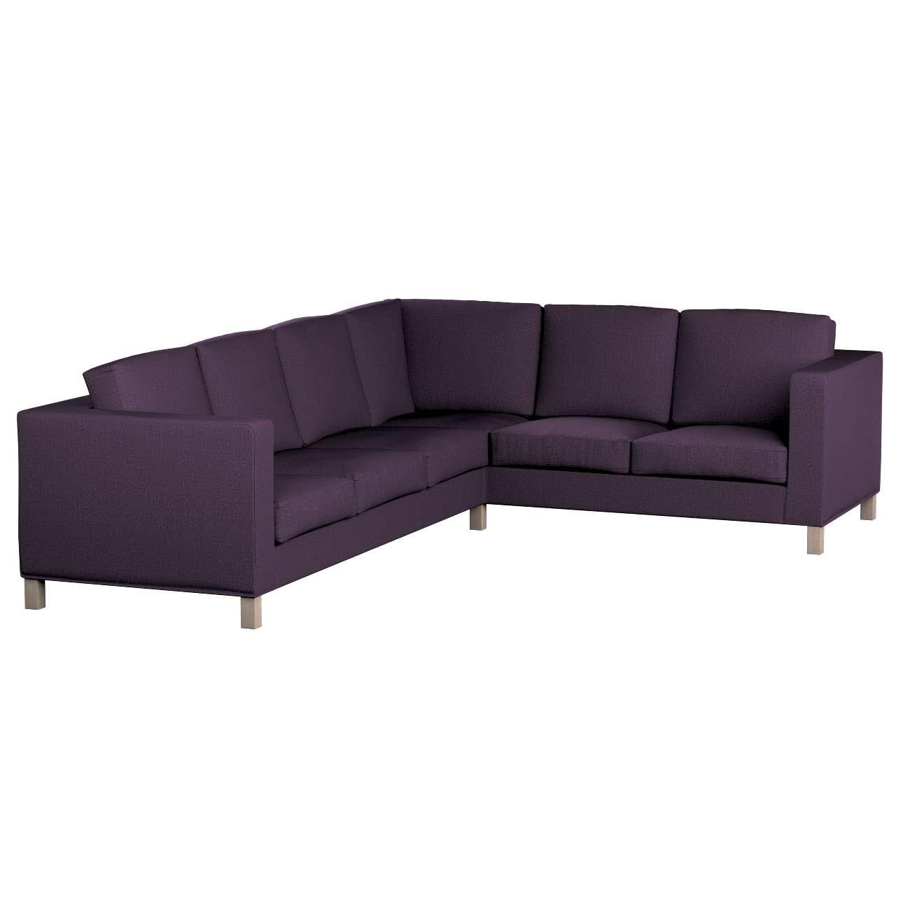 Pokrowiec na sofę narożną lewostronną Karlanda w kolekcji Living, tkanina: 161-67