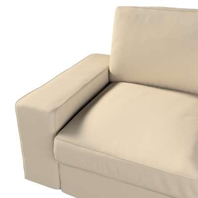Pokrowiec na sofę Kivik 2-osobową, nierozkładaną w kolekcji Cotton Panama, tkanina: 702-01