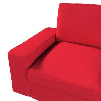 Pokrowiec na sofę Kivik 2-osobową, nierozkładaną w kolekcji Cotton Panama, tkanina: 702-04