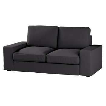 Pokrowiec na sofę Kivik 2-osobową, nierozkładaną w kolekcji Cotton Panama, tkanina: 702-08