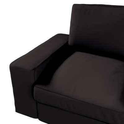 Pokrowiec na sofę Kivik 2-osobową, nierozkładaną w kolekcji Cotton Panama, tkanina: 702-09