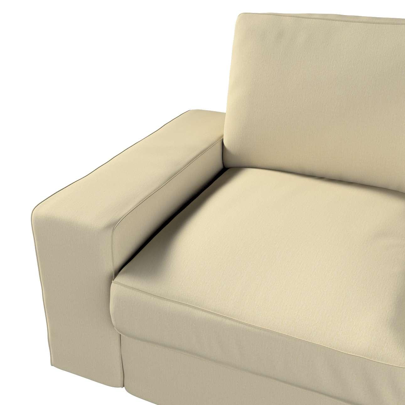 Pokrowiec na sofę Kivik 2-osobową, nierozkładaną w kolekcji Chenille, tkanina: 702-22
