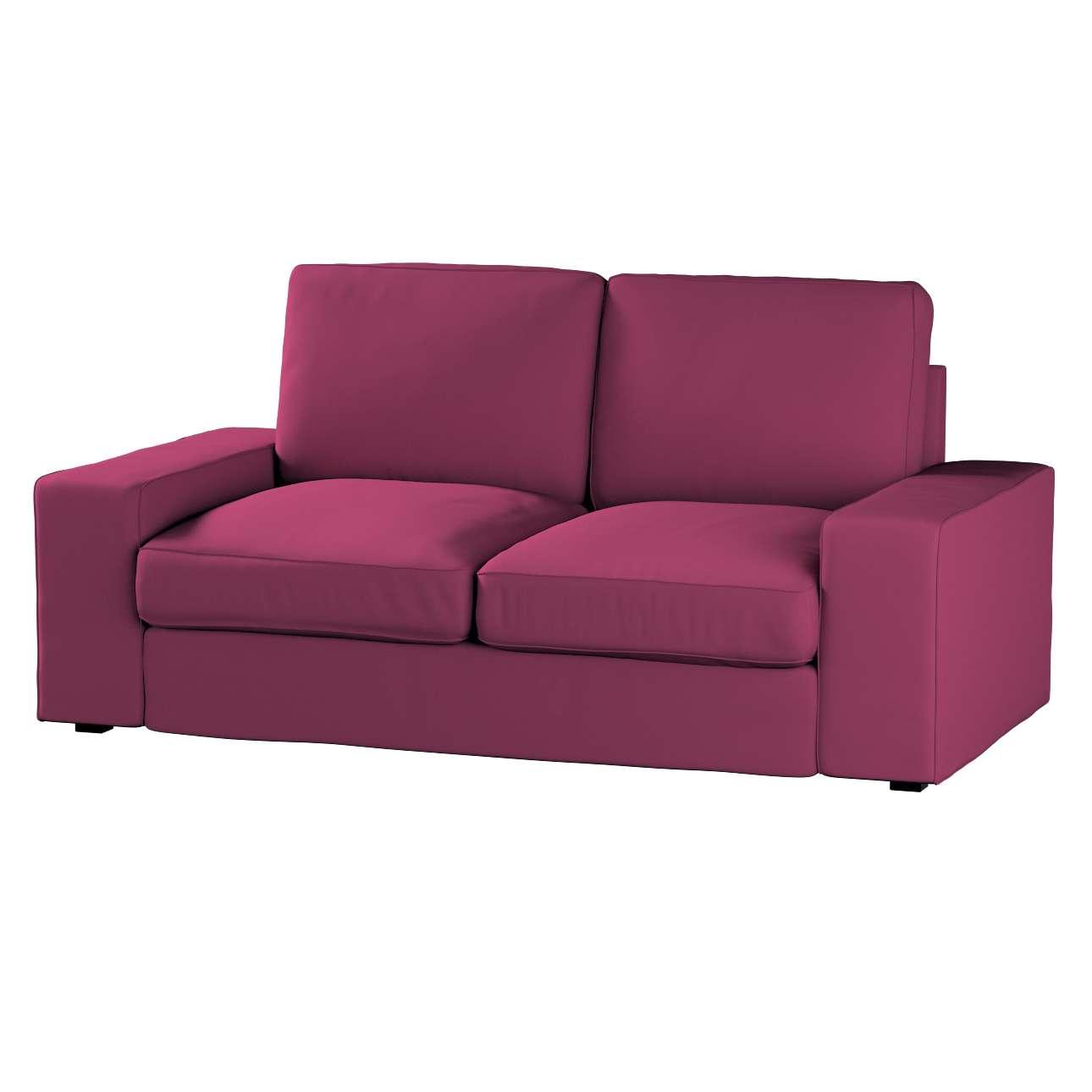 Pokrowiec na sofę Kivik 2-osobową, nierozkładaną Sofa Kivik 2-osobowa w kolekcji Cotton Panama, tkanina: 702-32