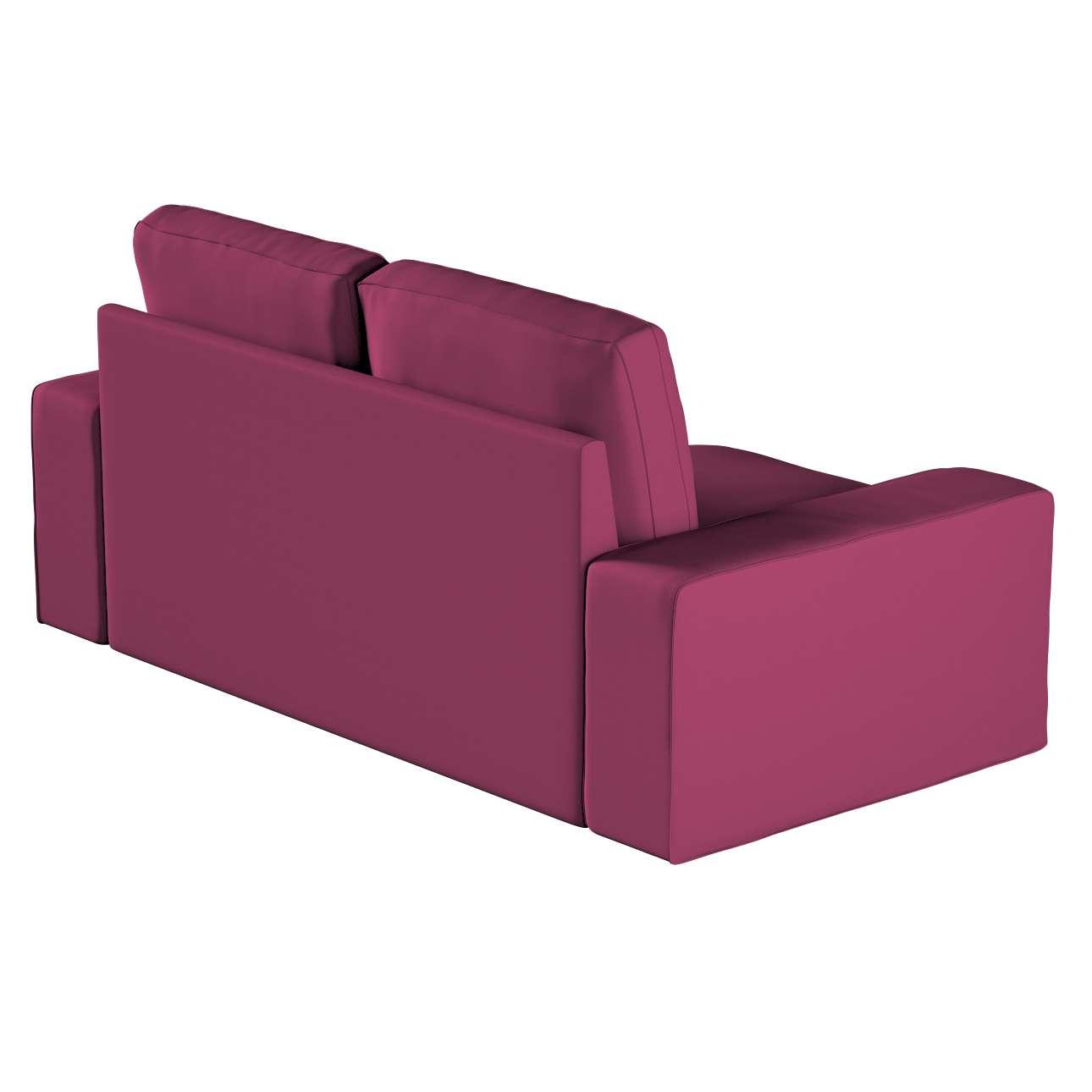 Pokrowiec na sofę Kivik 2-osobową, nierozkładaną w kolekcji Cotton Panama, tkanina: 702-32