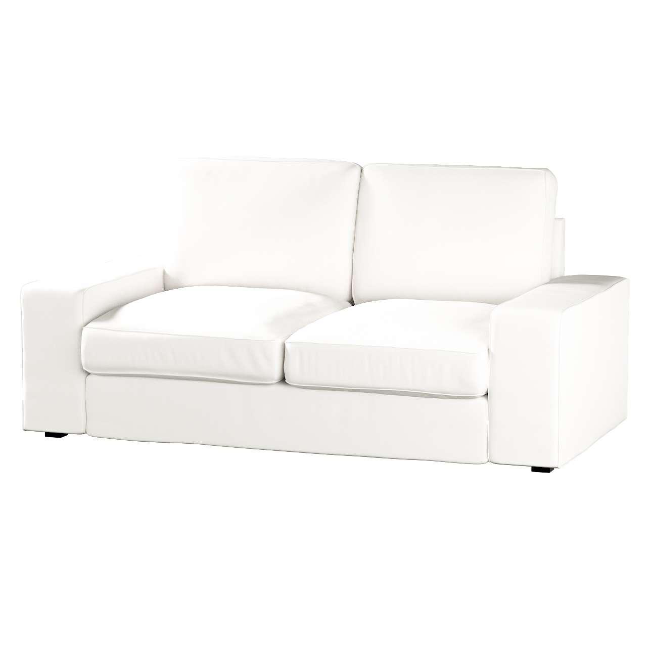 Pokrowiec na sofę Kivik 2-osobową, nierozkładaną Sofa Kivik 2-osobowa w kolekcji Cotton Panama, tkanina: 702-34