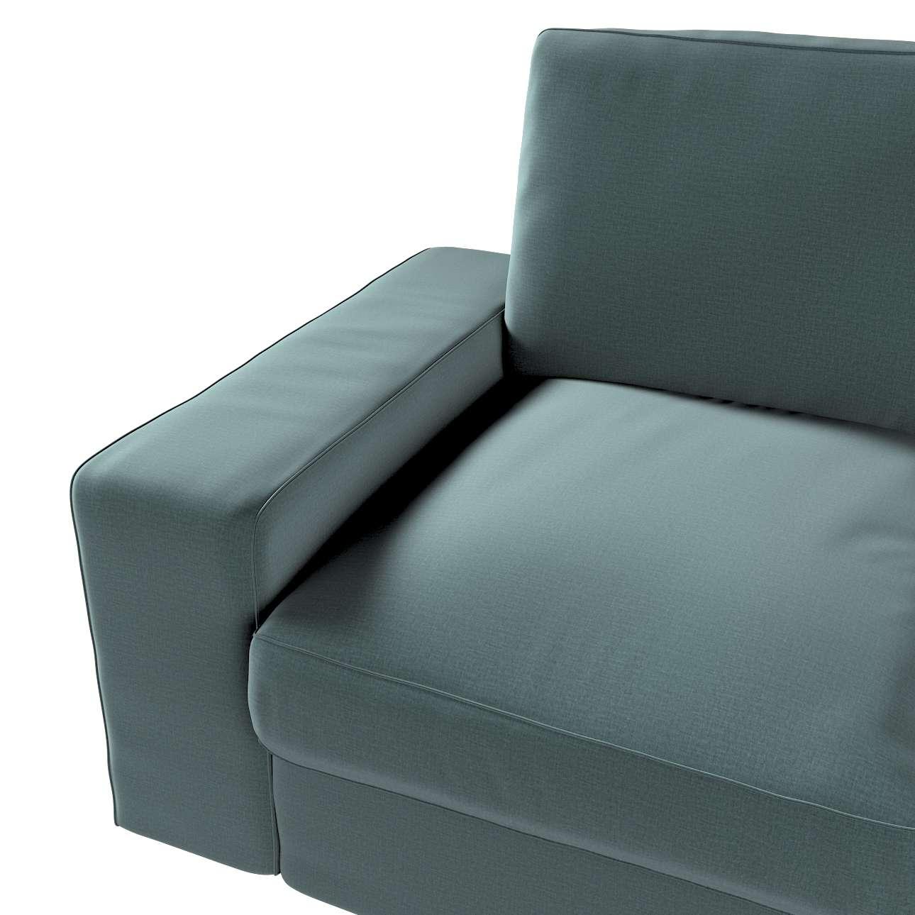 Pokrowiec na sofę Kivik 2-osobową, nierozkładaną w kolekcji Ingrid, tkanina: 705-36