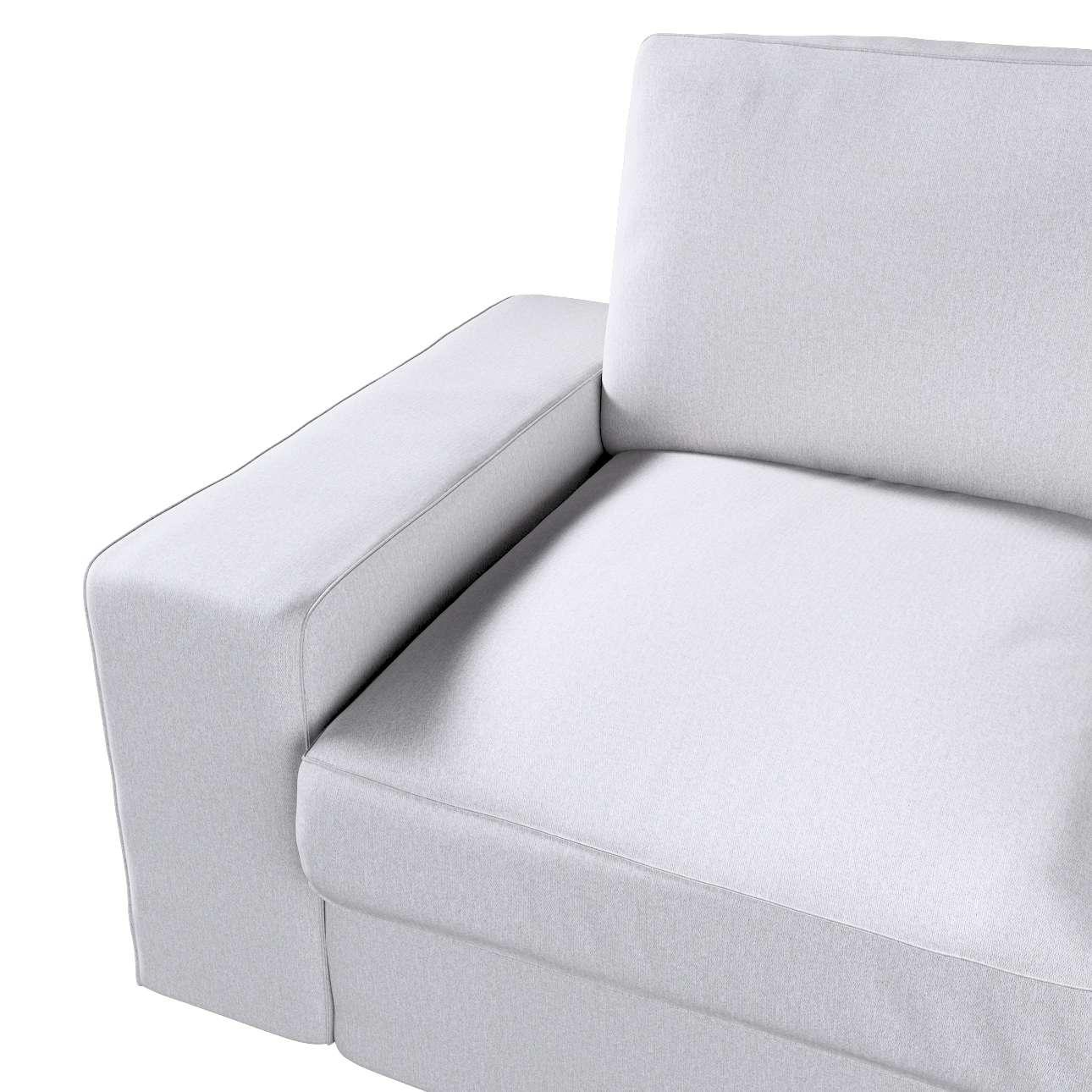 Pokrowiec na sofę Kivik 2-osobową, nierozkładaną w kolekcji Amsterdam, tkanina: 704-45