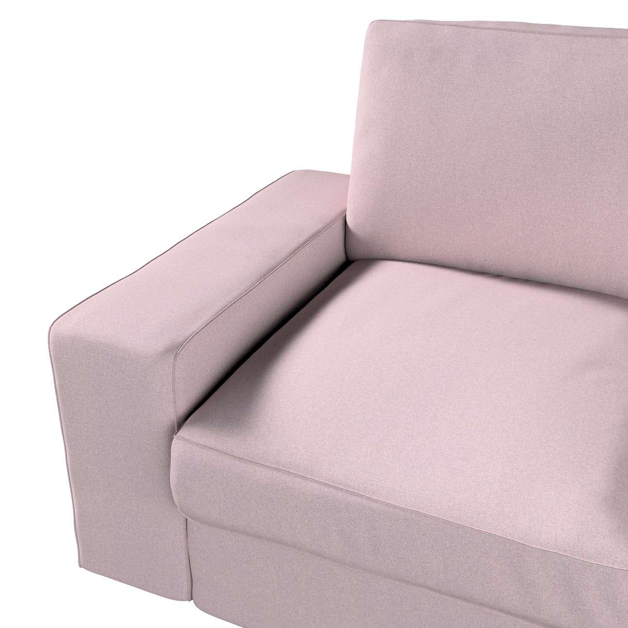 Pokrowiec na sofę Kivik 2-osobową, nierozkładaną w kolekcji Amsterdam, tkanina: 704-51