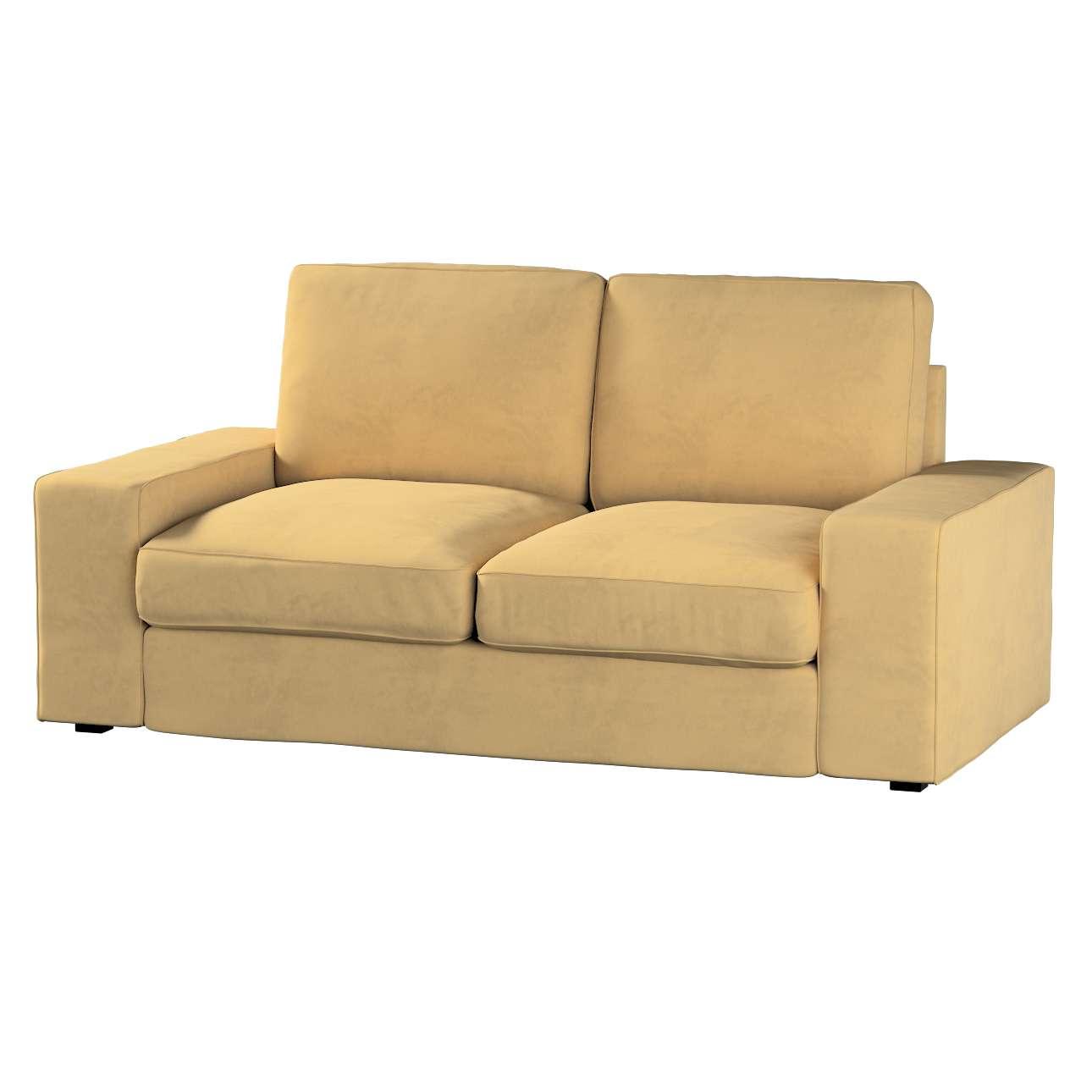 Pokrowiec na sofę Kivik 2-osobową, nierozkładaną w kolekcji Living, tkanina: 160-93