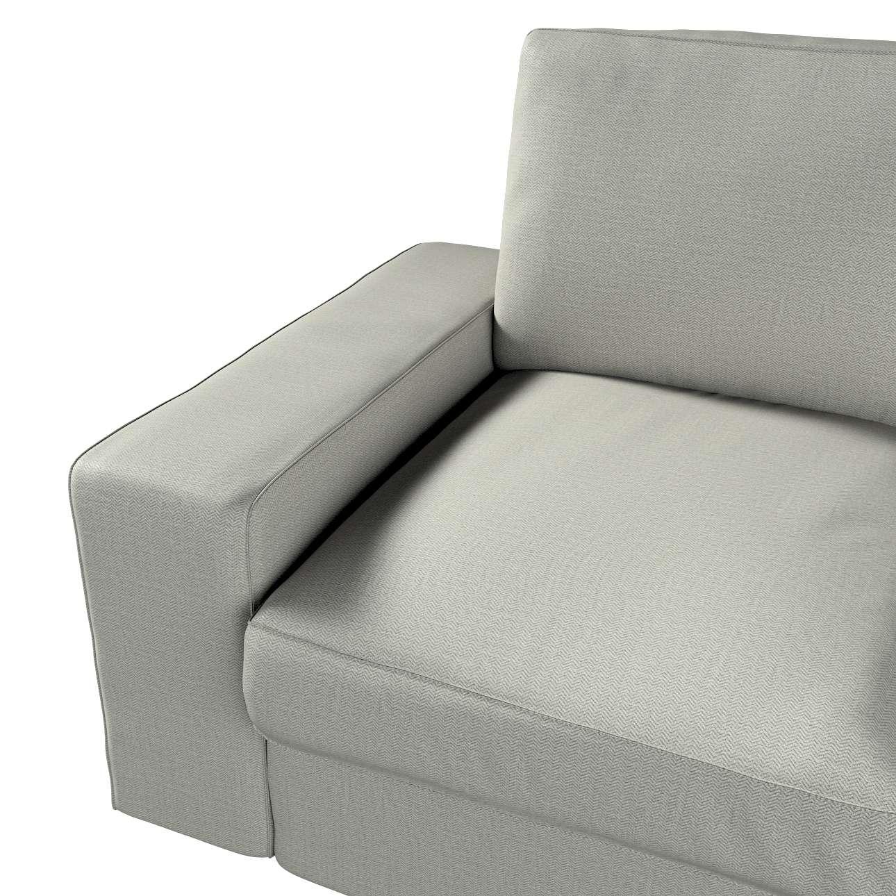 Pokrowiec na sofę Kivik 2-osobową, nierozkładaną w kolekcji Bergen, tkanina: 161-83