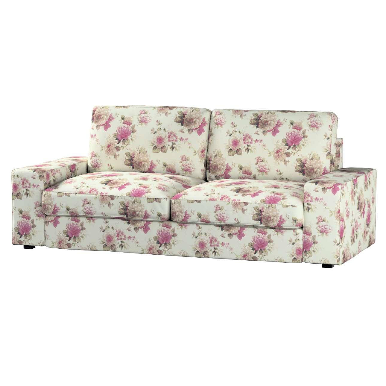 Kivik 3-Sitzer Sofabezug, beige- rosa, Sofa Kivik 3-Sitzer, Mirella