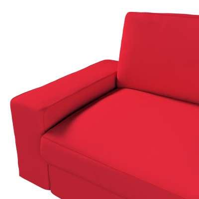 Pokrowiec na sofę Kivik 3-osobową, nierozkładaną w kolekcji Cotton Panama, tkanina: 702-04