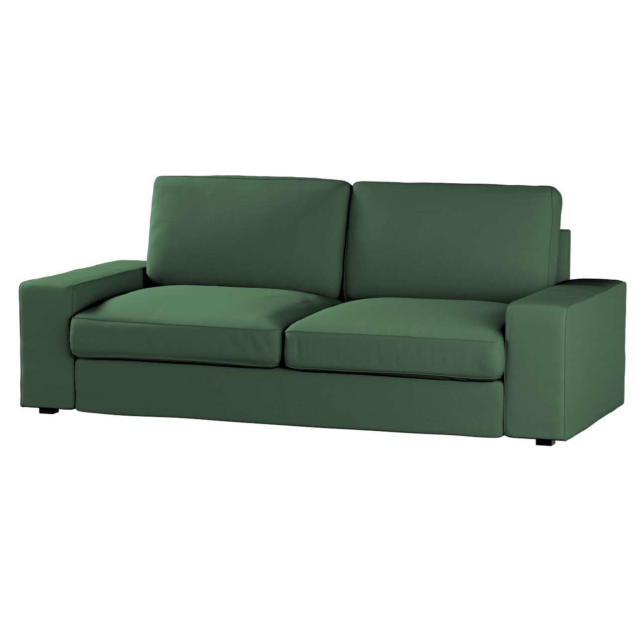 Pokrowiec na sofę Kivik 3-osobową, nierozkładaną Sofa Kivik 3-osobowa nierozkładana w kolekcji Cotton Panama, tkanina: 702-06