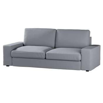 Pokrowiec na sofę Kivik 3-osobową, nierozkładaną Sofa Kivik 3-osobowa nierozkładana w kolekcji Cotton Panama, tkanina: 702-07