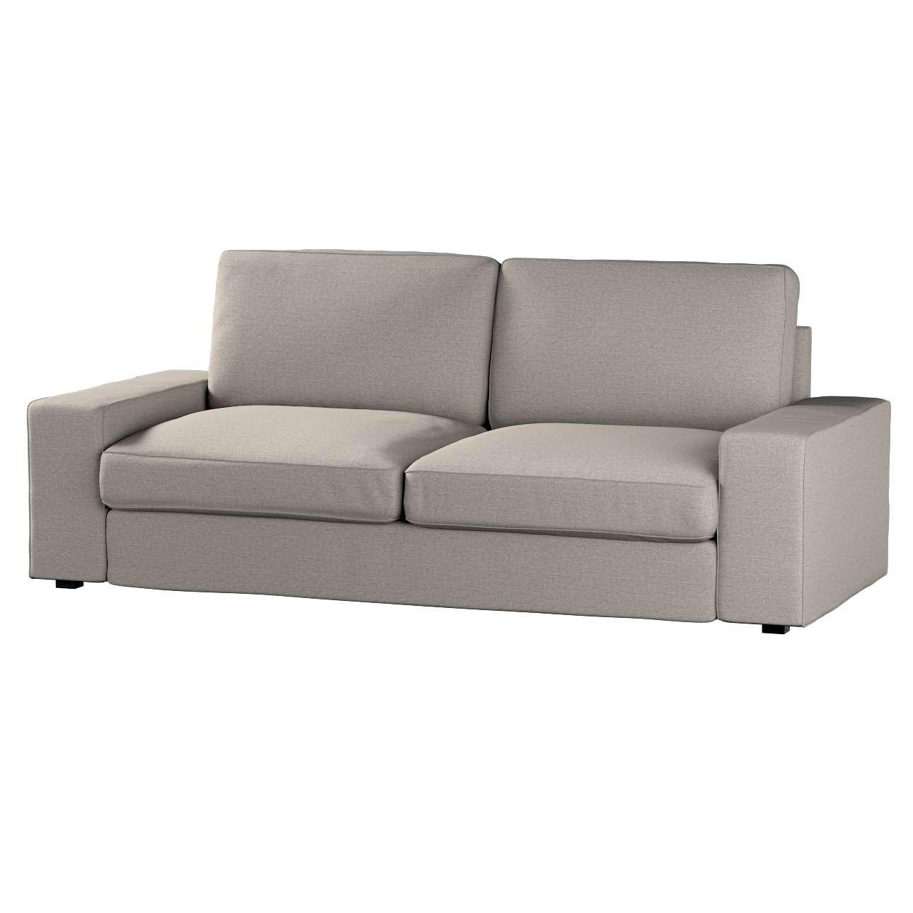 Pokrowiec na sofę Kivik 3-osobową, nierozkładaną Sofa Kivik 3-osobowa nierozkładana w kolekcji Edinburgh, tkanina: 115-77
