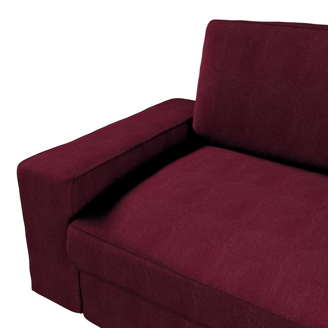 Pokrowiec na sofę Kivik 3-osobową, nierozkładaną w kolekcji Chenille, tkanina: 702-19
