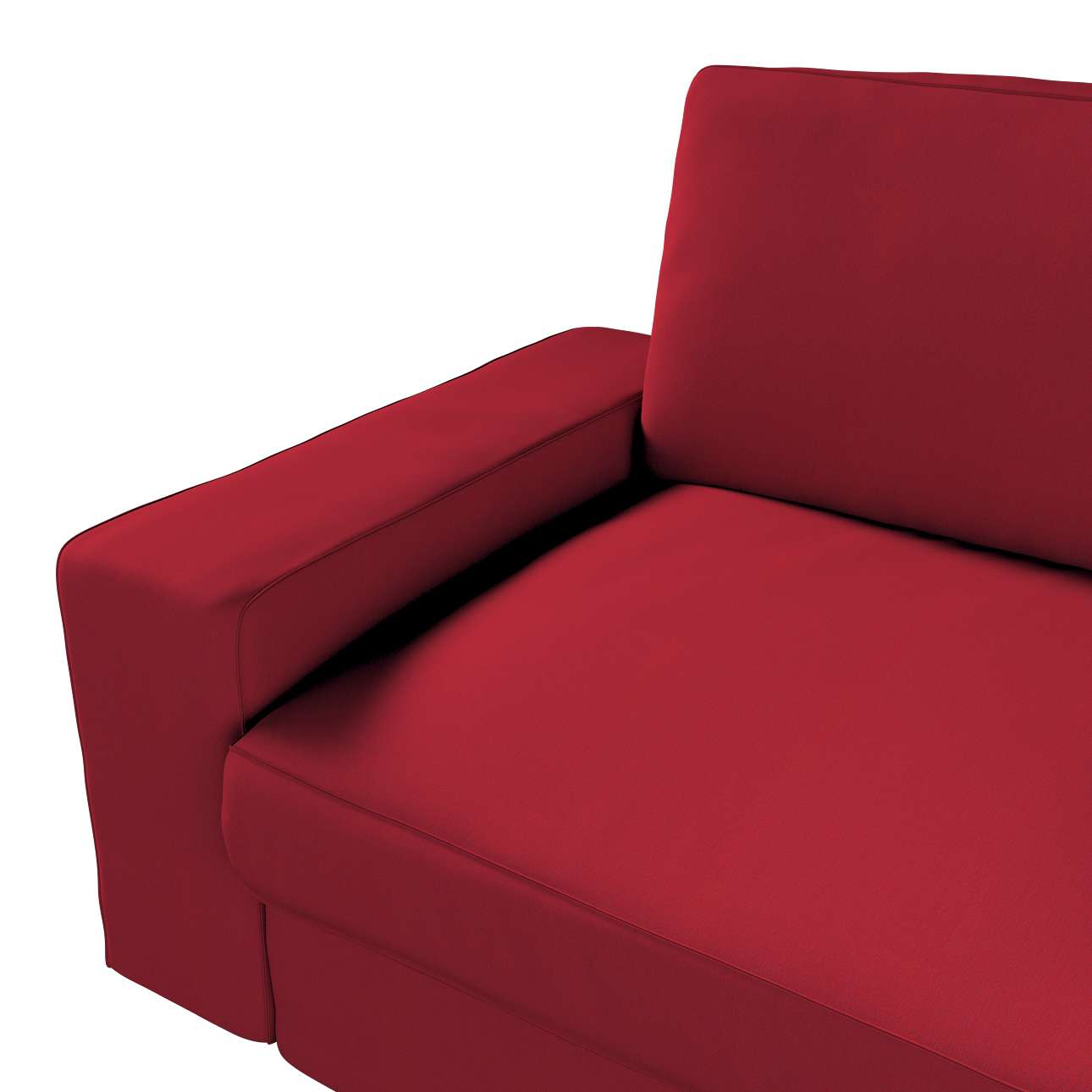 Pokrowiec na sofę Kivik 3-osobową, nierozkładaną w kolekcji Chenille, tkanina: 702-24