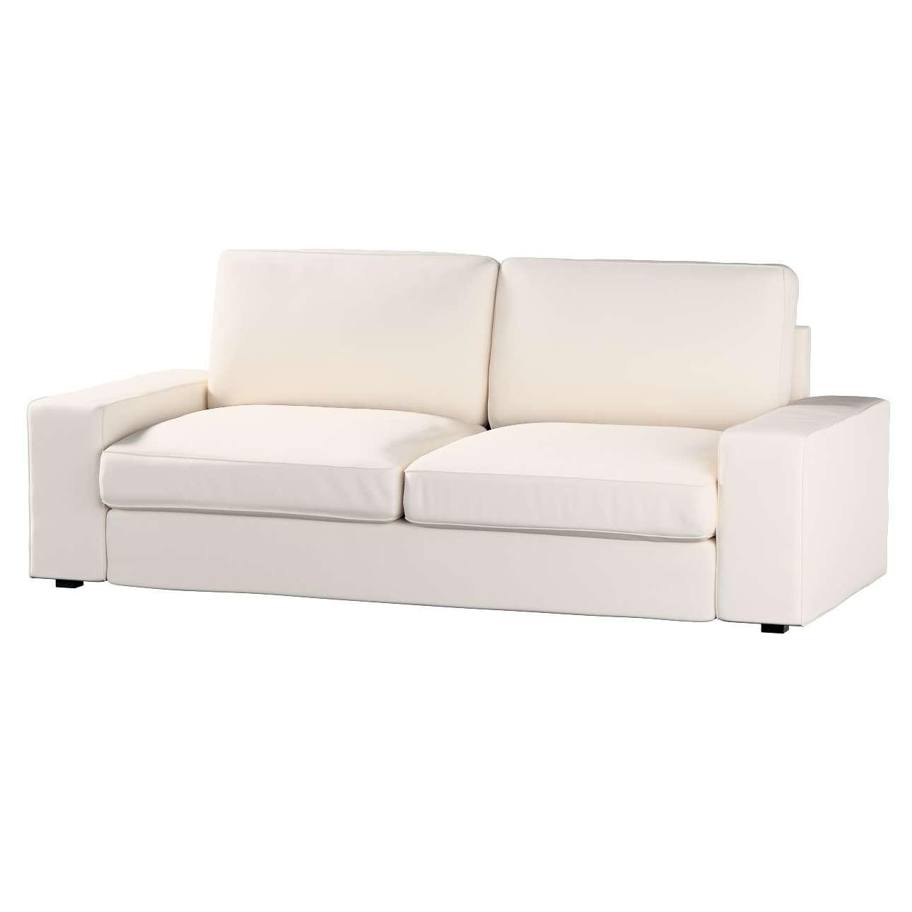 Pokrowiec na sofę Kivik 3-osobową, nierozkładaną Sofa Kivik 3-osobowa nierozkładana w kolekcji Etna , tkanina: 705-01