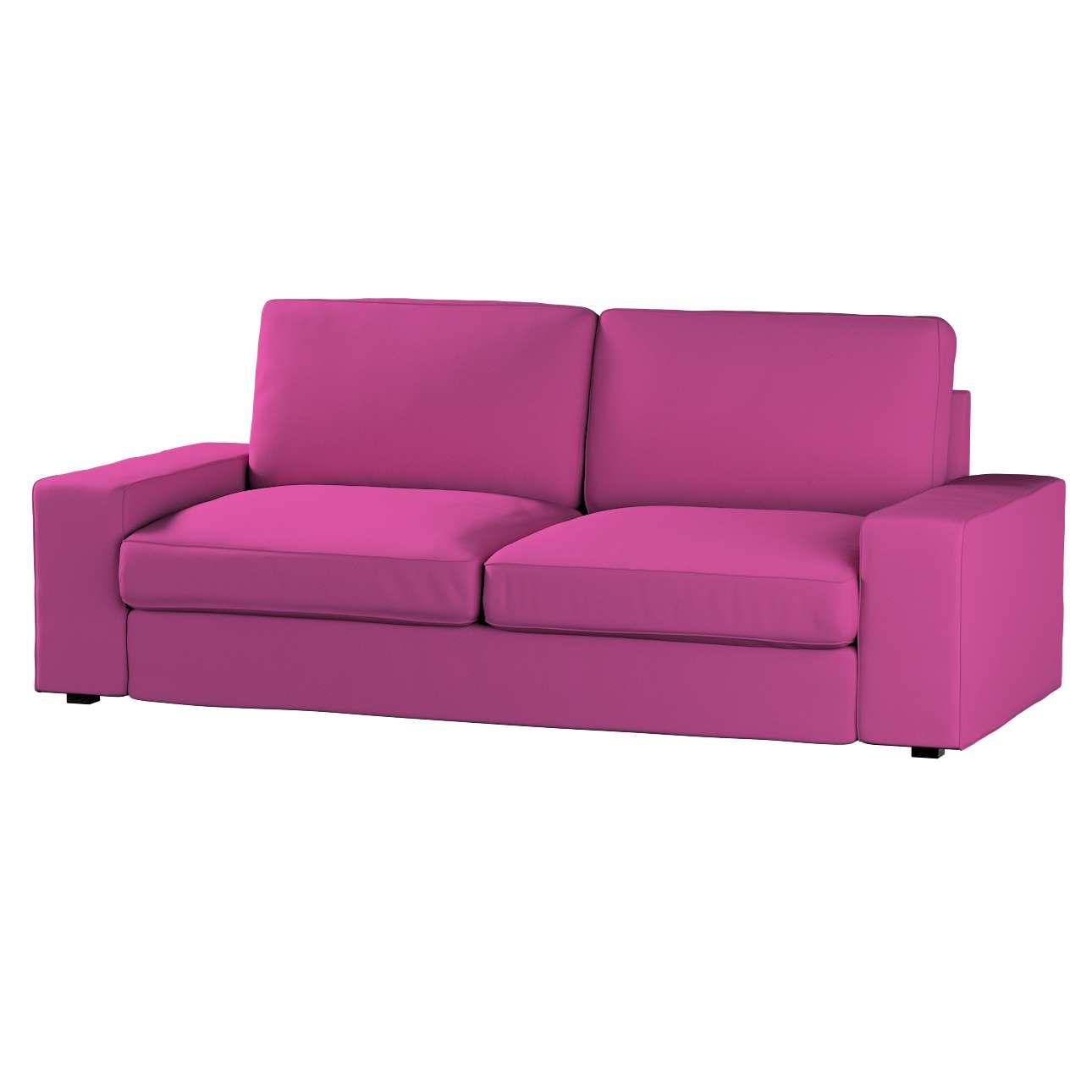 Pokrowiec na sofę Kivik 3-osobową, nierozkładaną Sofa Kivik 3-osobowa nierozkładana w kolekcji Etna , tkanina: 705-23