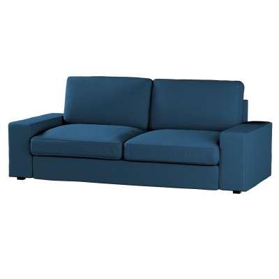 Pokrowiec na sofę Kivik 3-osobową, nierozkładaną w kolekcji Cotton Panama, tkanina: 702-30