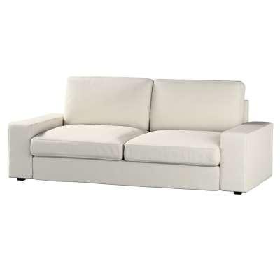 Pokrowiec na sofę Kivik 3-osobową, nierozkładaną w kolekcji Cotton Panama, tkanina: 702-31