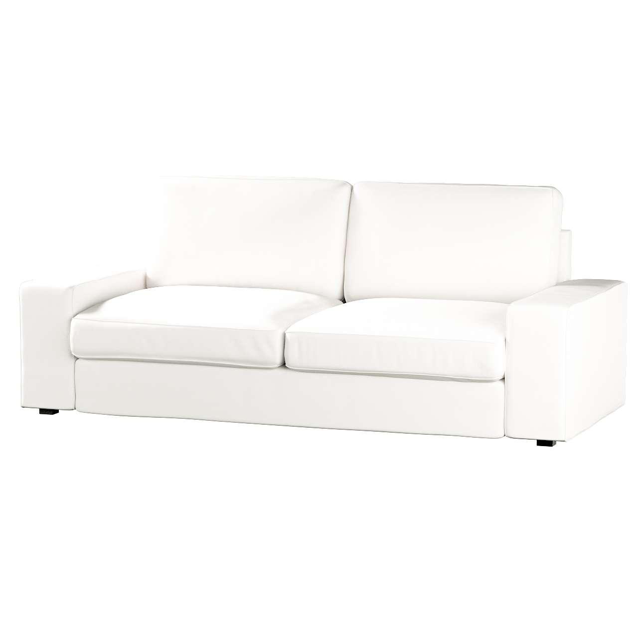 Pokrowiec na sofę Kivik 3-osobową, nierozkładaną Sofa Kivik 3-osobowa nierozkładana w kolekcji Cotton Panama, tkanina: 702-34