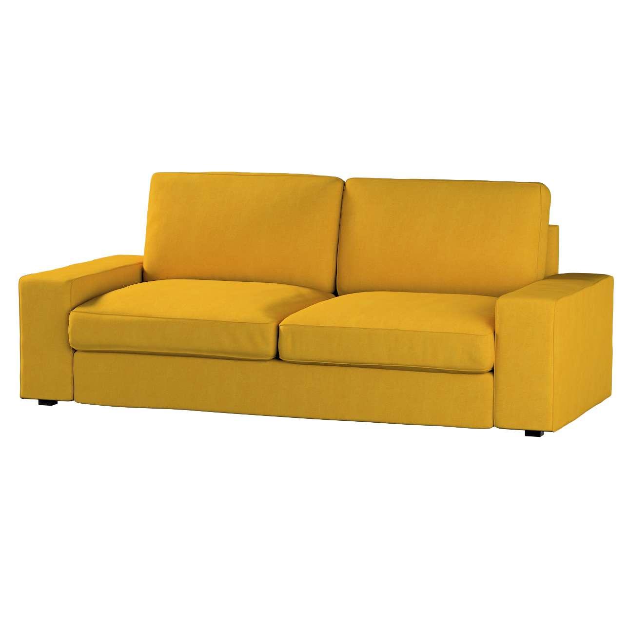 Pokrowiec na sofę Kivik 3-osobową, nierozkładaną Sofa Kivik 3-osobowa nierozkładana w kolekcji Etna , tkanina: 705-04