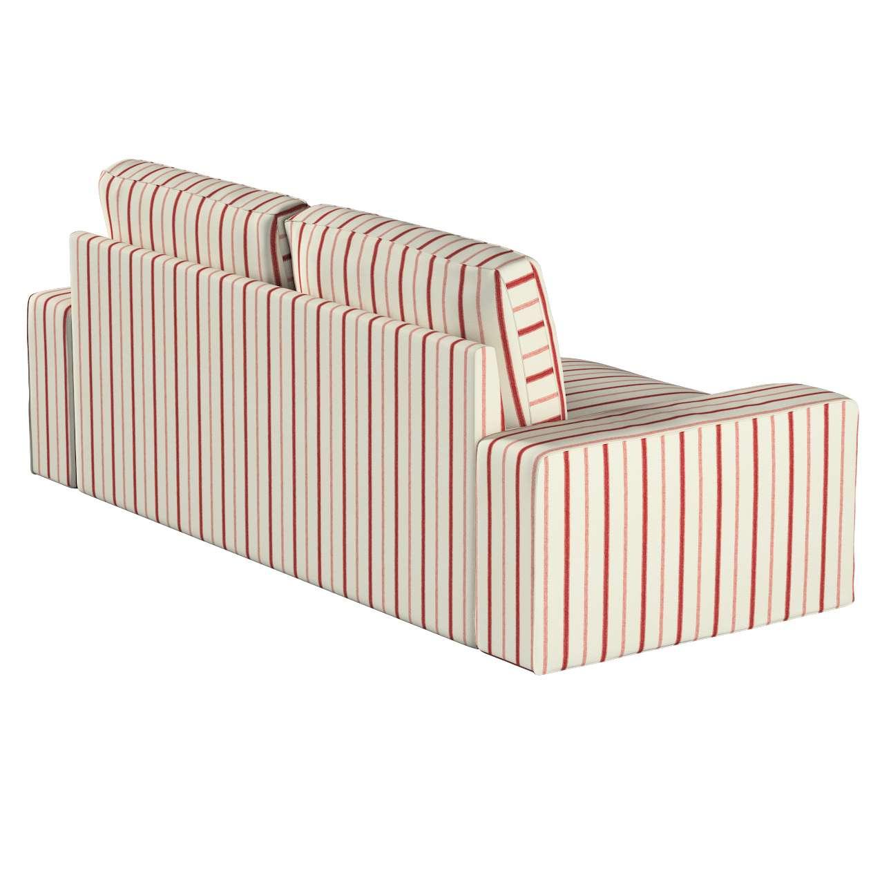 Pokrowiec na sofę Kivik 3-osobową, nierozkładaną w kolekcji Avinon, tkanina: 129-15