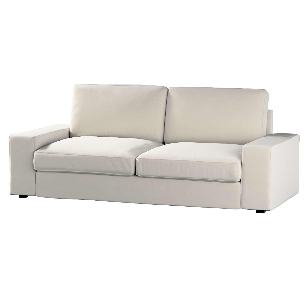 Pokrowiec na sofę Kivik 3-osobową, nierozkładaną w kolekcji Ingrid, tkanina: 705-40