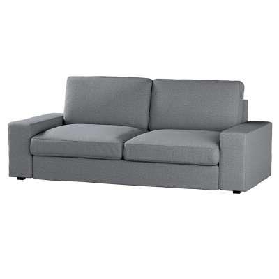 Pokrowiec na sofę Kivik 3-osobową, nierozkładaną w kolekcji Amsterdam, tkanina: 704-47