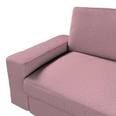 Pokrowiec na sofę Kivik 3-osobową, nierozkładaną w kolekcji Amsterdam, tkanina: 704-48