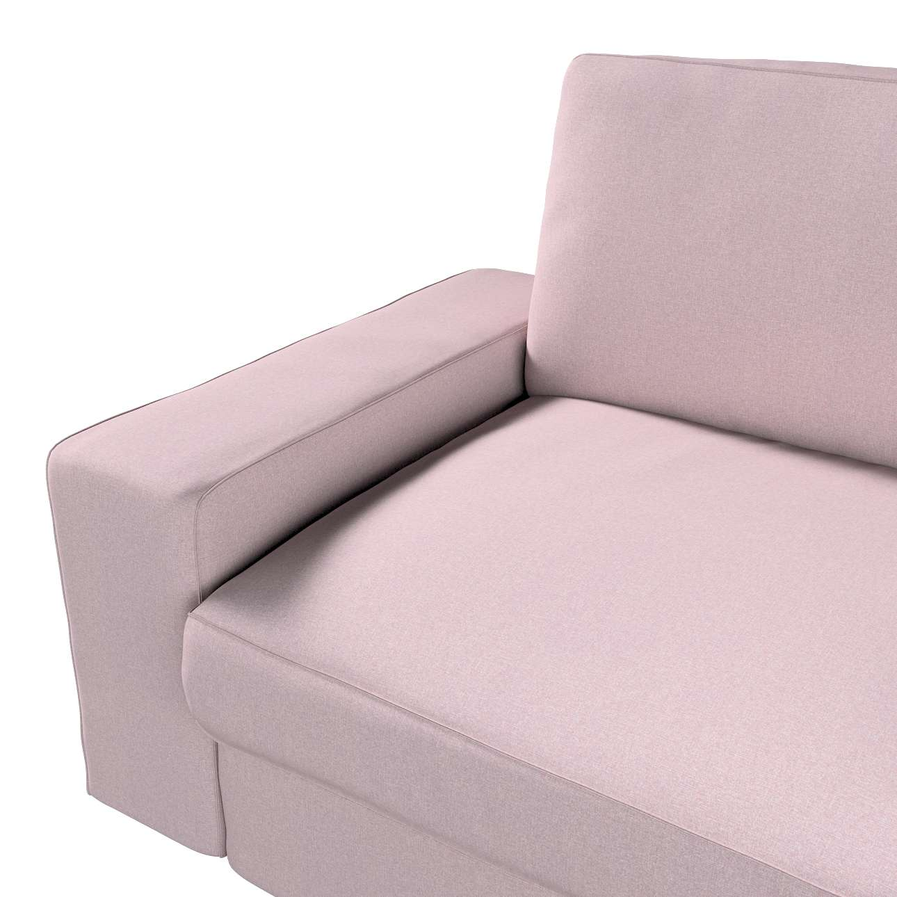 Pokrowiec na sofę Kivik 3-osobową, nierozkładaną w kolekcji Amsterdam, tkanina: 704-51