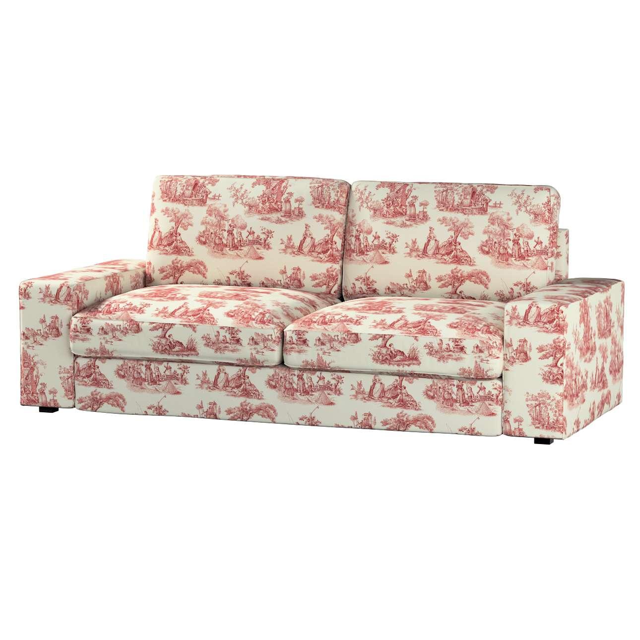 Pokrowiec na sofę Kivik 3-osobową, nierozkładaną Sofa Kivik 3-osobowa nierozkładana w kolekcji Avinon, tkanina: 132-15