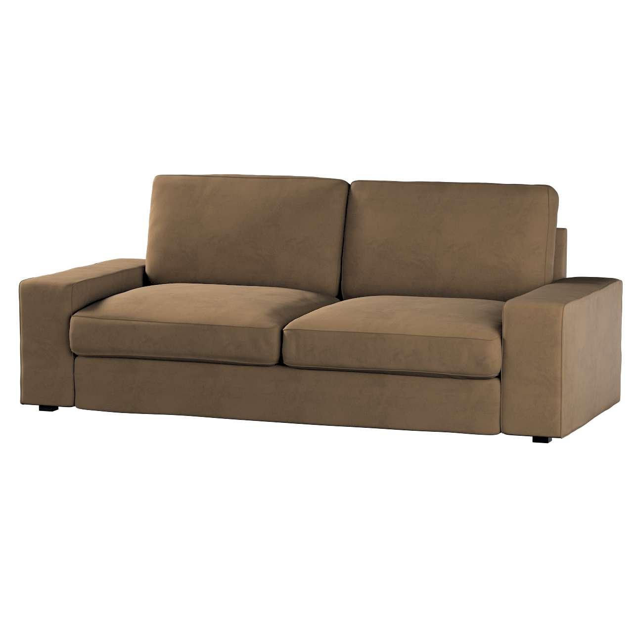 Pokrowiec na sofę Kivik 3-osobową, nierozkładaną w kolekcji Living, tkanina: 160-94