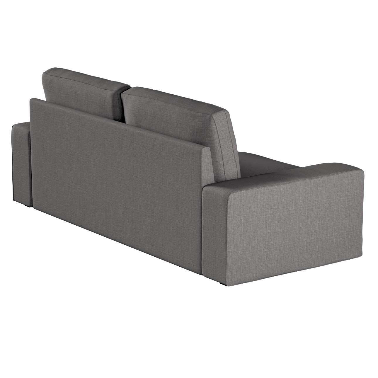 Pokrowiec na sofę Kivik 3-osobową, nierozkładaną w kolekcji Living II, tkanina: 161-16