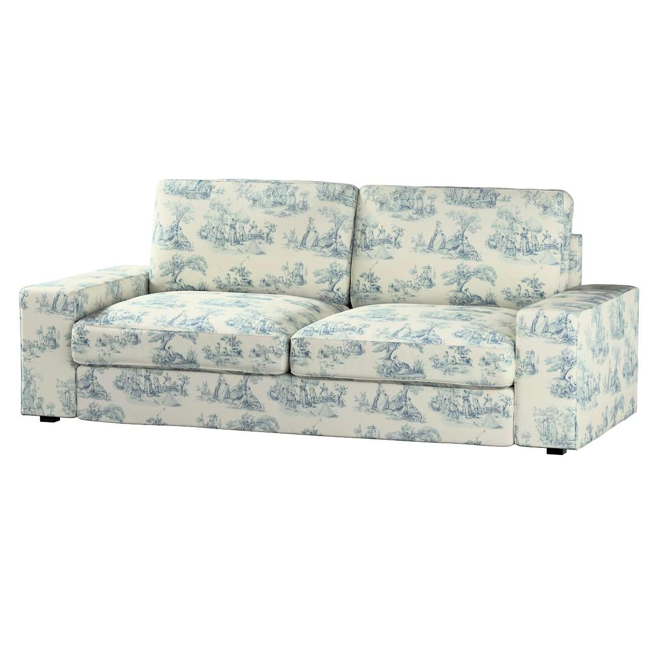 Pokrowiec na sofę Kivik 3-osobową, nierozkładaną Sofa Kivik 3-osobowa nierozkładana w kolekcji Avinon, tkanina: 132-66