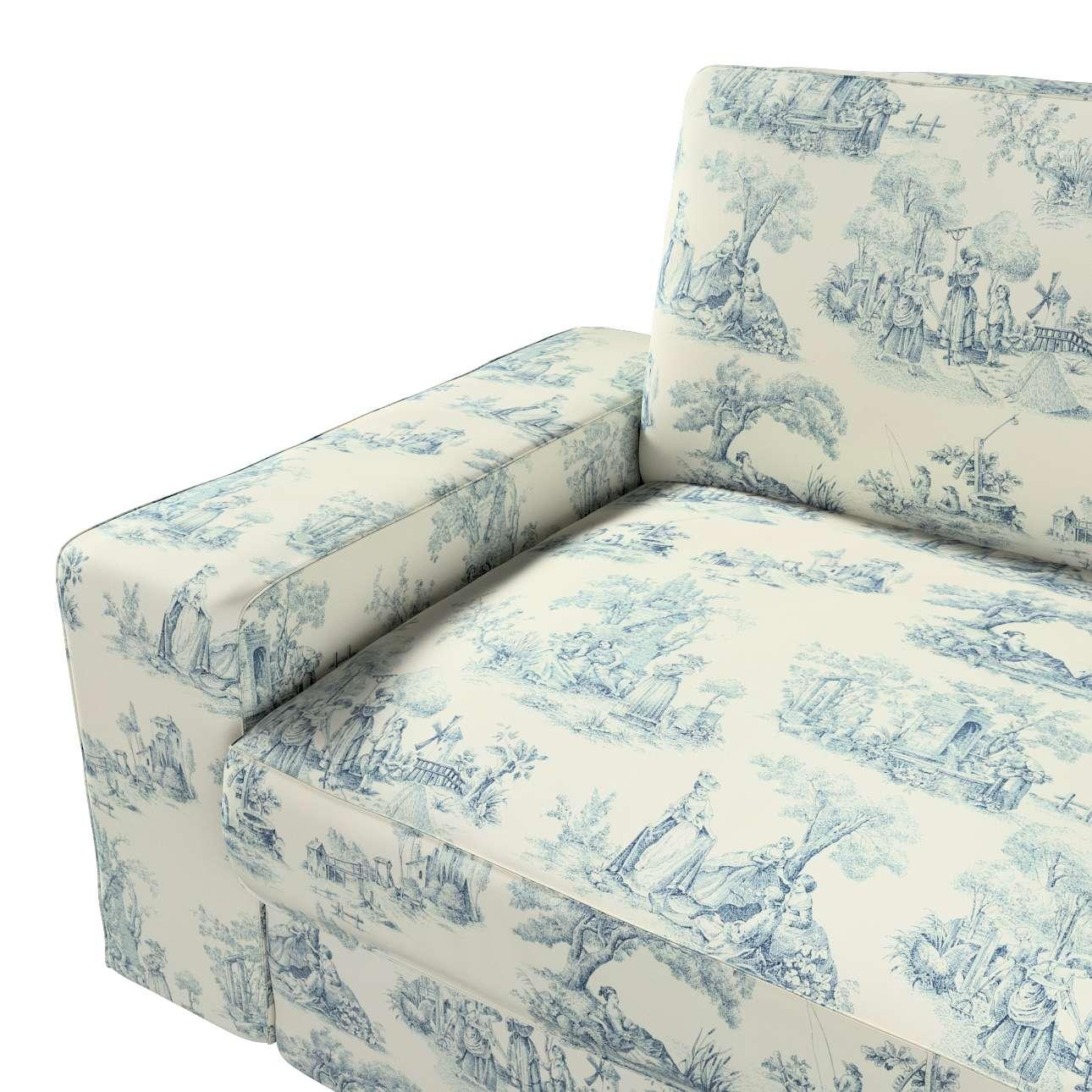 Pokrowiec na sofę Kivik 3-osobową, nierozkładaną w kolekcji Avinon, tkanina: 132-66