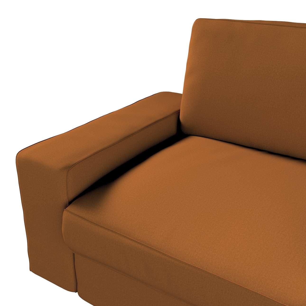 Pokrowiec na sofę Kivik 3-osobową, nierozkładaną w kolekcji Living, tkanina: 161-28