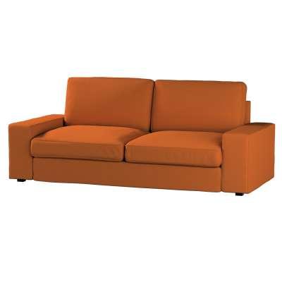 Pokrowiec na sofę Kivik 3-osobową, nierozkładaną w kolekcji Cotton Panama, tkanina: 702-42