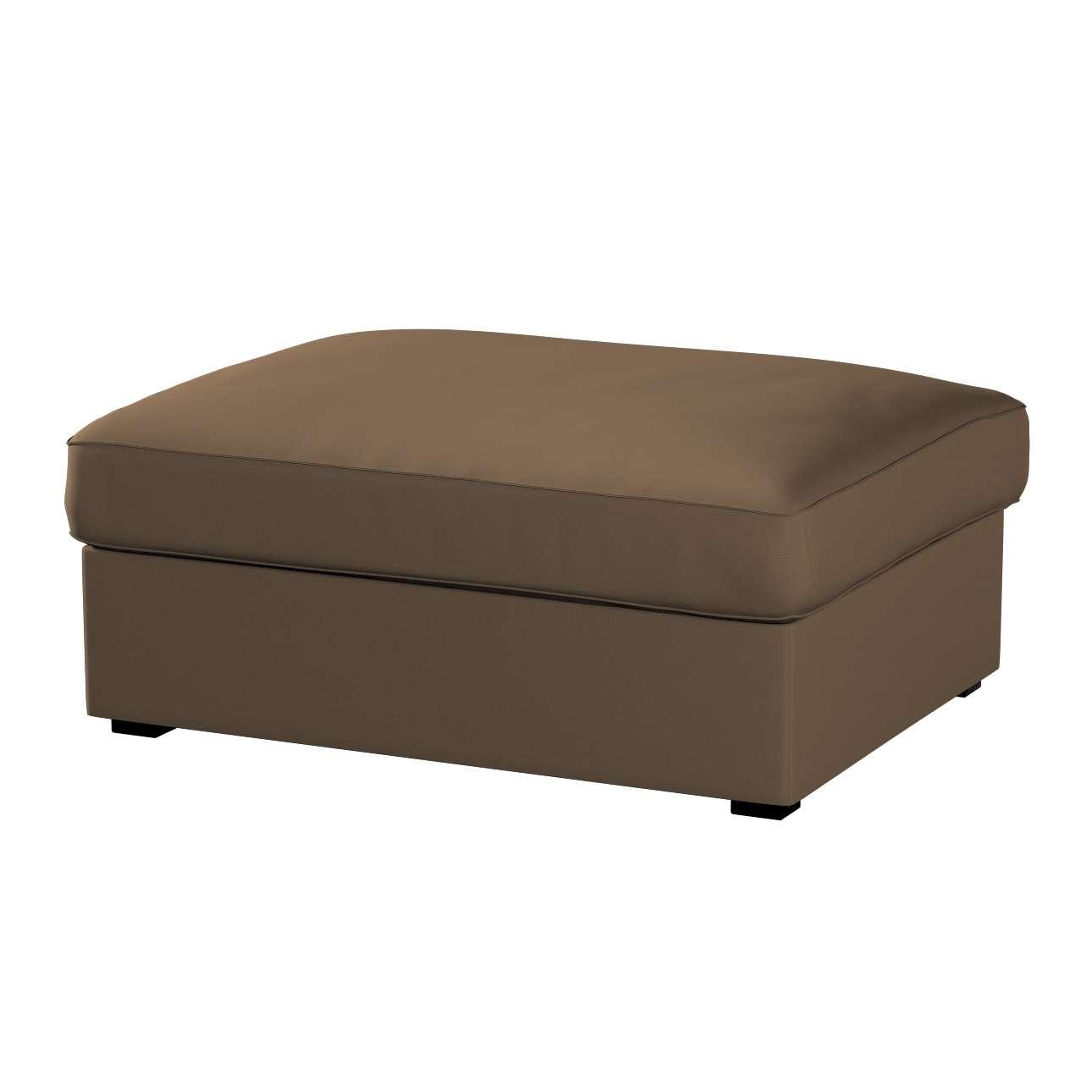 KIVIK kojų kėdutė su dėže užvalkalas Kivik footstool kolekcijoje Cotton Panama, audinys: 702-02